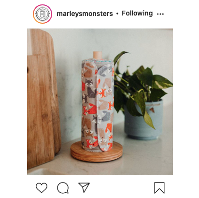 Marley's Monsters Unpaper towels