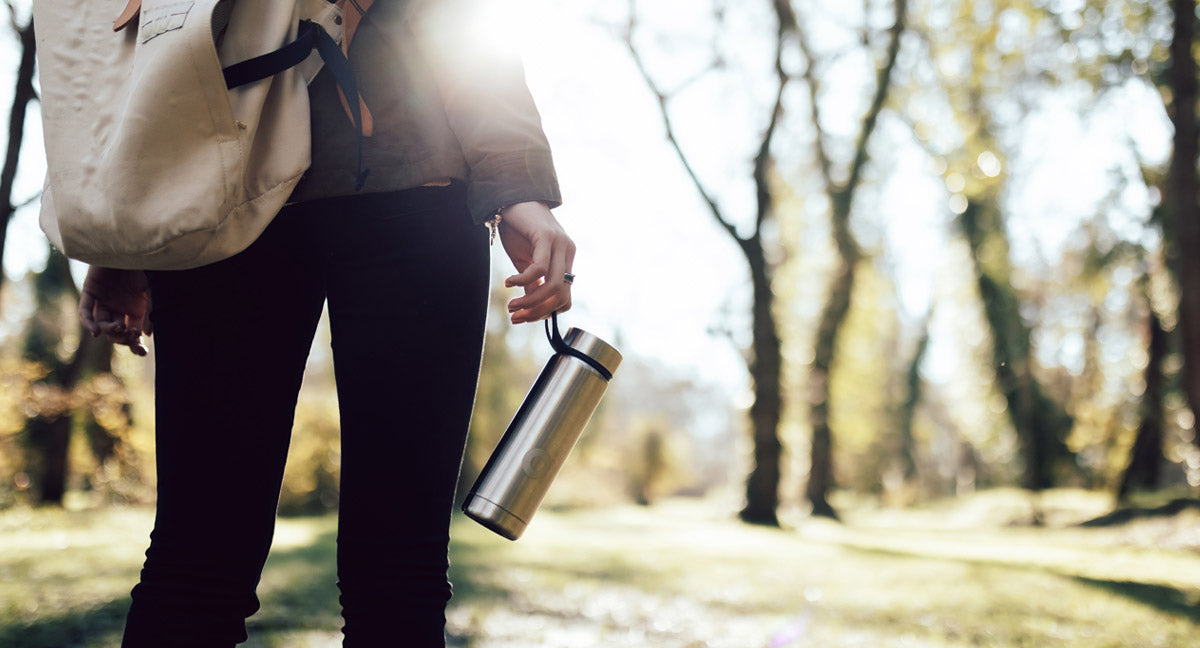 Carry a reusable water bottle