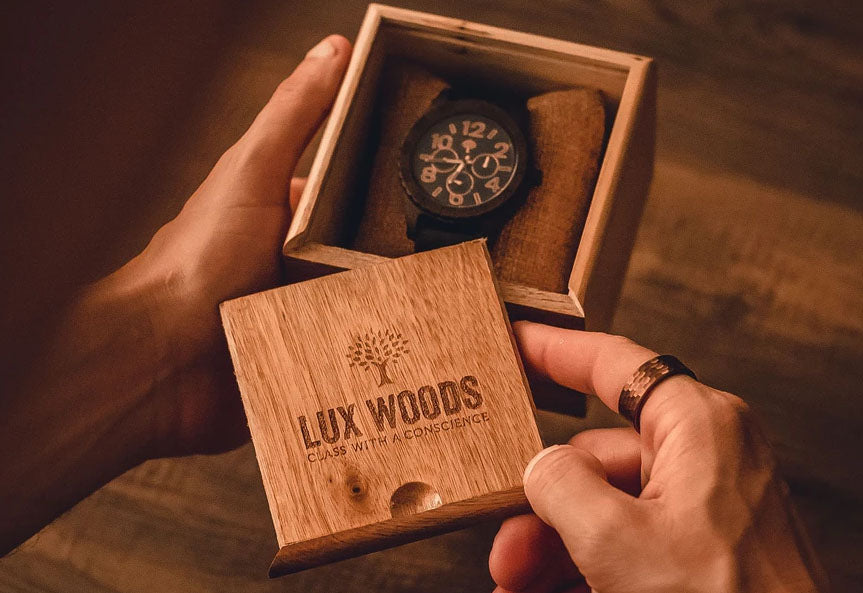 Lux Woods Watches