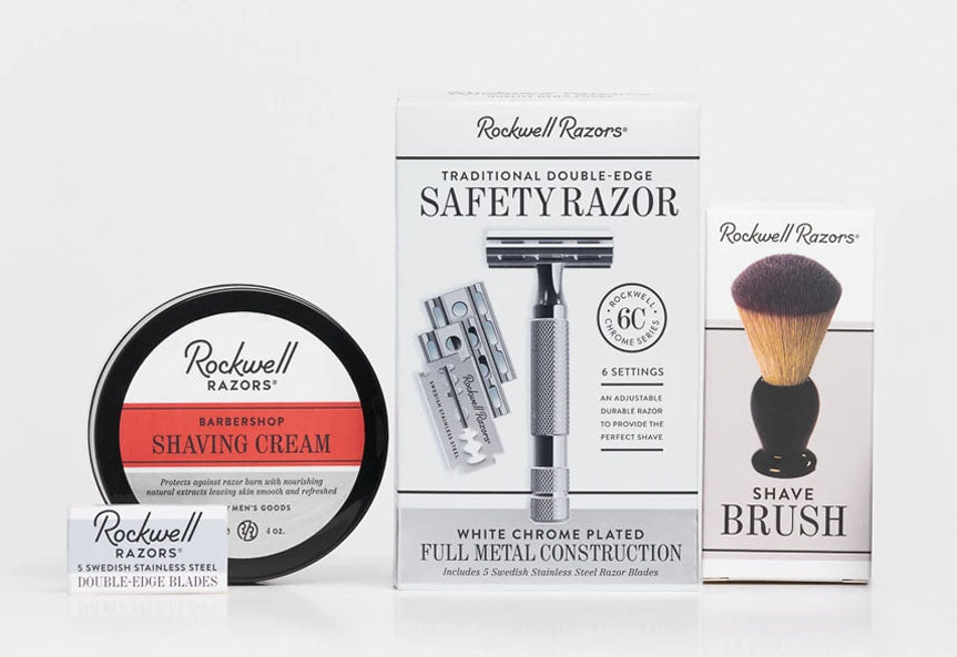 Rockwell Razors Zero Waste Shaving Kit
