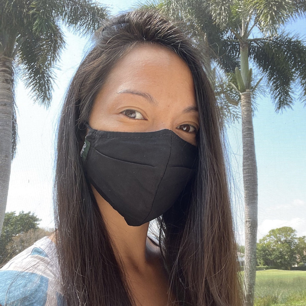 Reusable Fabric Mask (Black)
