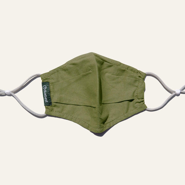 Duebest Olive Green Reusable Face Mask