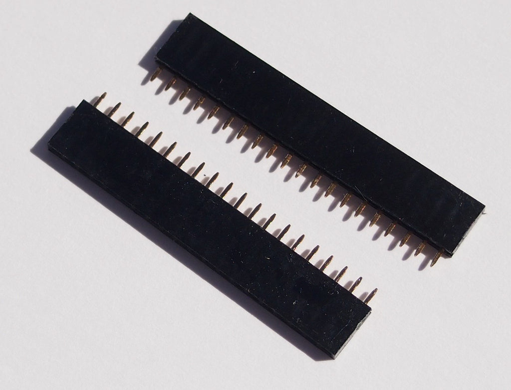 Female Headers, 2x 20 pins