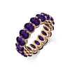 AMETHYST OVAL ETERNITY RING