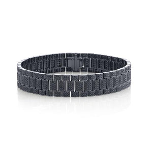 BLACK DIAMOND TWINKLE RAIL LINK BRACELET