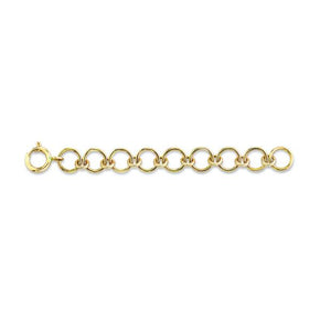 SOLID GOLD JUMP RING EXTENSION