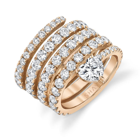 PAVE BAGUETTE DIAMOND PINKY RING