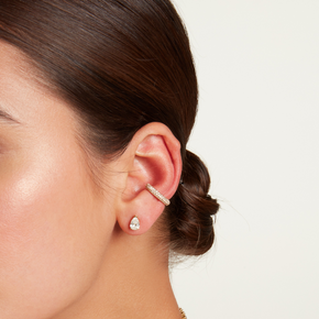 RUBY JUMBO PAVE EAR CUFF