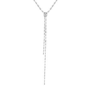 DIAMOND DOUBLE ILLUSION Y NECKLACE