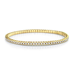 DIAMOND TENNIS STRETCH BRACELET, 2.2cts