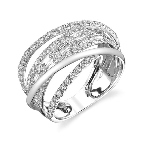 CLOSED MIXED DIAMOND RING