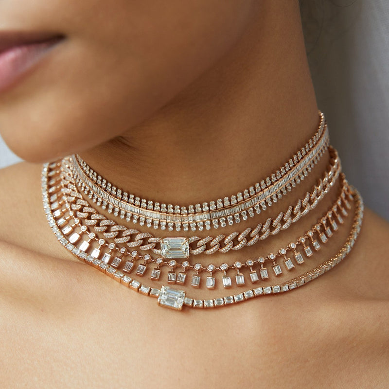 DIAMOND SCALES CHOKER