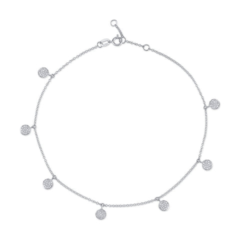 KID'S MOON & STAR DANGLE NECKLACE