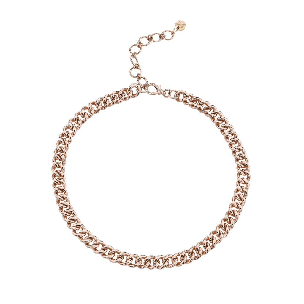 SOLID GOLD MINI LINK ANKLET