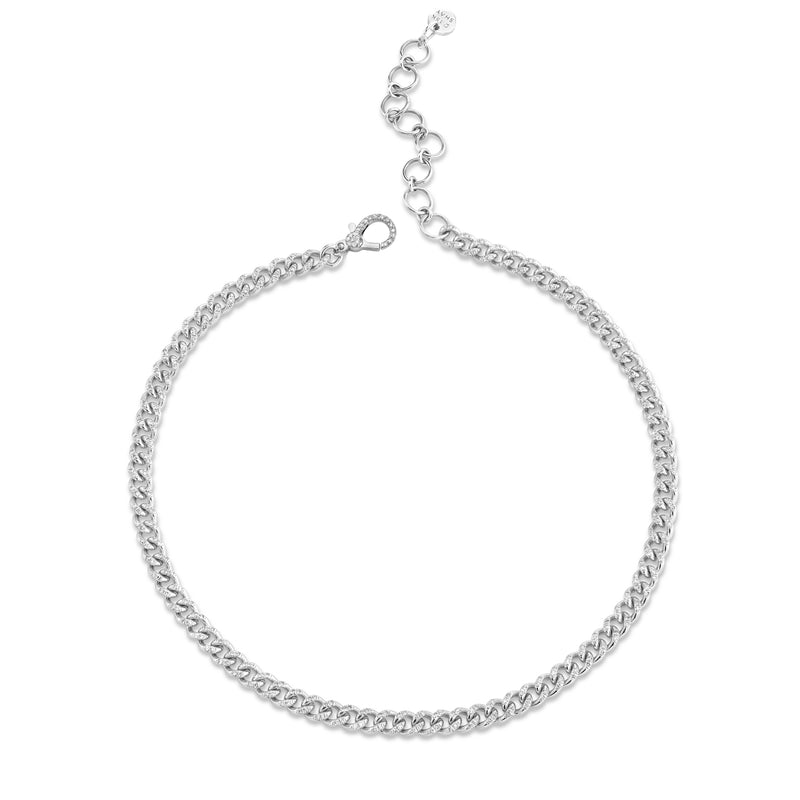 PAVE BABY LINK ANKLET