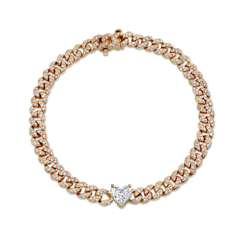 BLACK DIAMOND TWINKLE LINK BRACELET