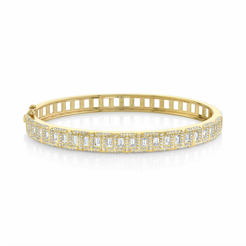 DIAMOND CORE STRETCH SCALES BRACELET