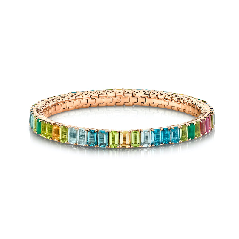 RAINBOW ETERNITY STRETCH BRACELET