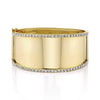 JUMBO DIAMONDS NAMEPLATE BRACELET