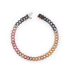 ALTERNATING PAVE DIAMOND LINK BRACELET