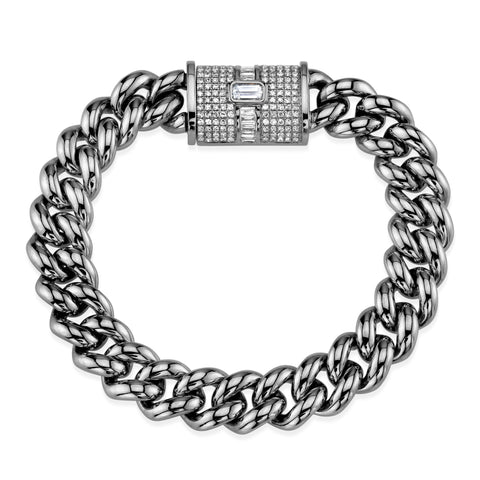 PAVE BEE MINI LINK BRACELET