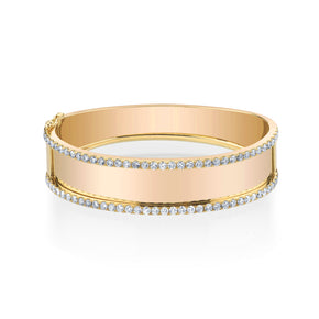 LARGE NAMEPLATE BANGLE