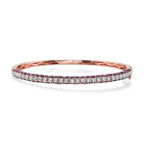 RUBY OVAL ETERNITY RING