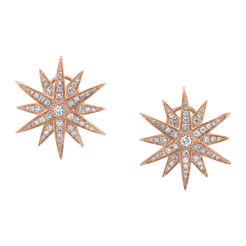 JUMBO STARBURST EARRINGS