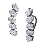 MARQUISE DIAMOND EAR CRAWLER