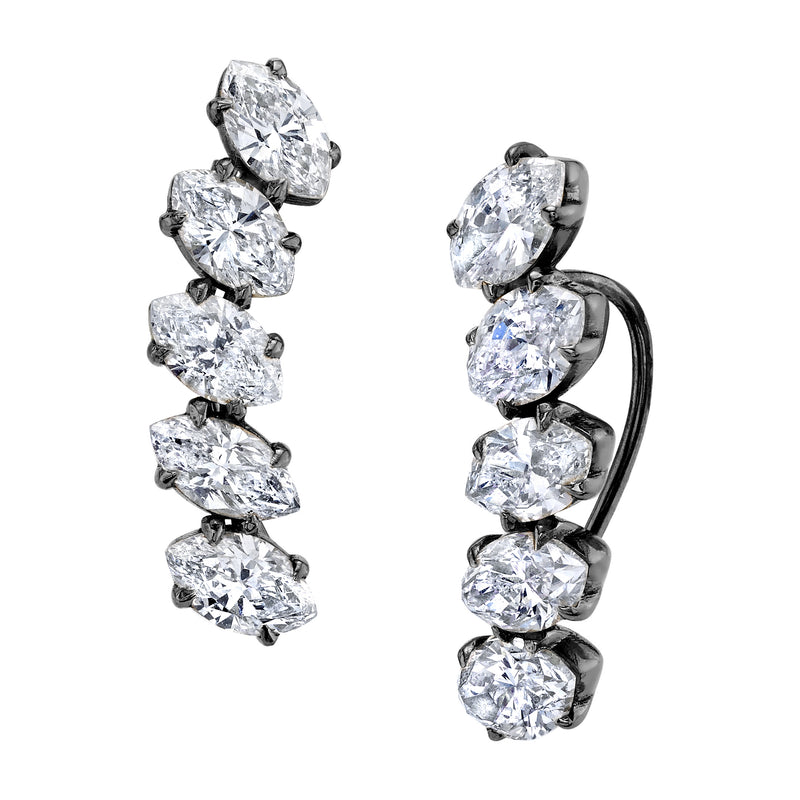 MARQUISE DIAMOND EAR CRAWLER - EMAIL US FOR PRICING