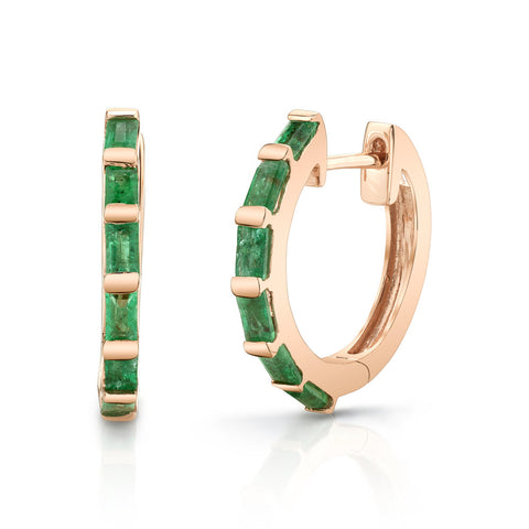 EMERALD OVAL ETERNITY BAND