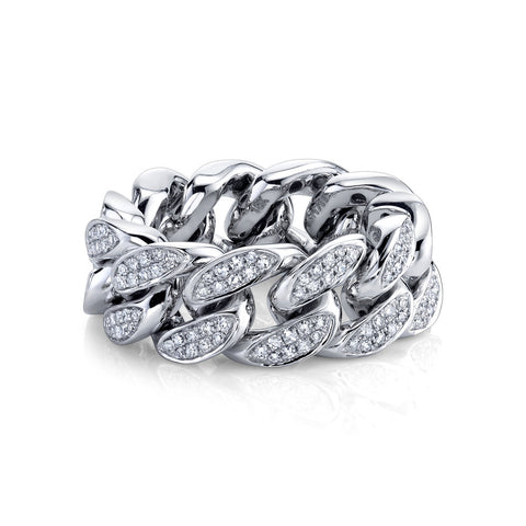 PARTIAL PAVE JOURNEY LINK RING