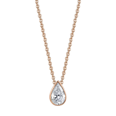 DOT-DASH DIAMOND NECKLACE