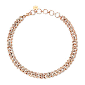 DIAMOND PAVE ESSENTIAL LINK CHOKER