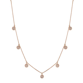 PAVE DANGLE NECKLACE