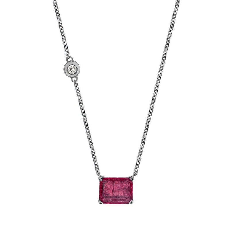 GEMSTONE PENDANT NECKLACE