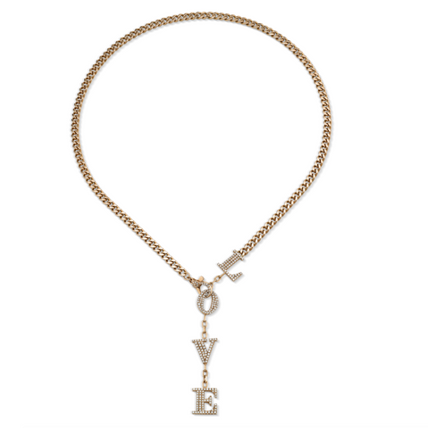 GRADUAL ROUND DIAMOND TENNIS NECKLACE