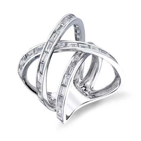 B&W DIAMOND ORBIT RING