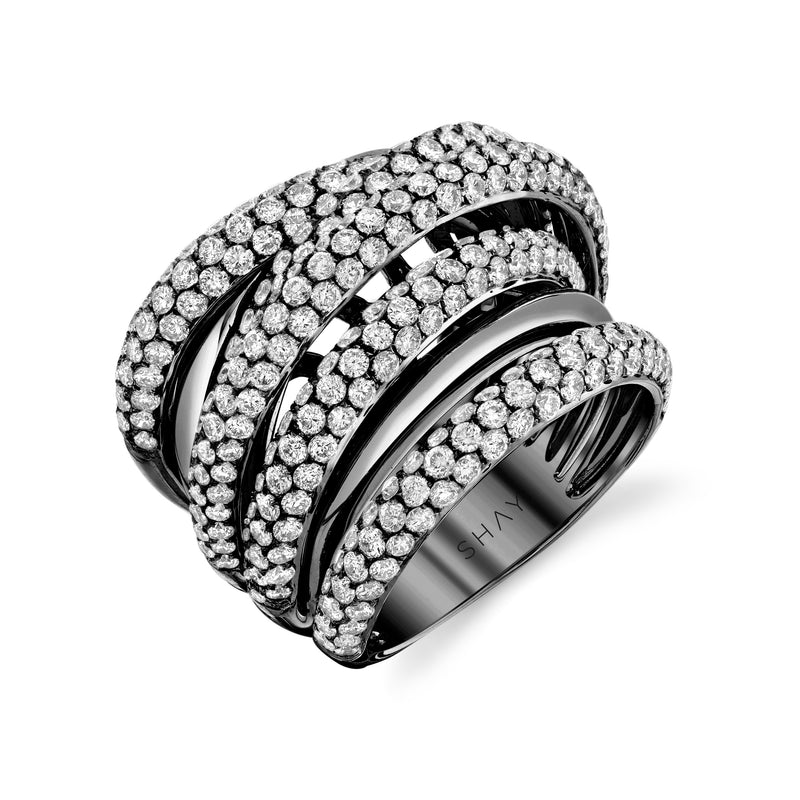 DIAMOND ORBIT RING
