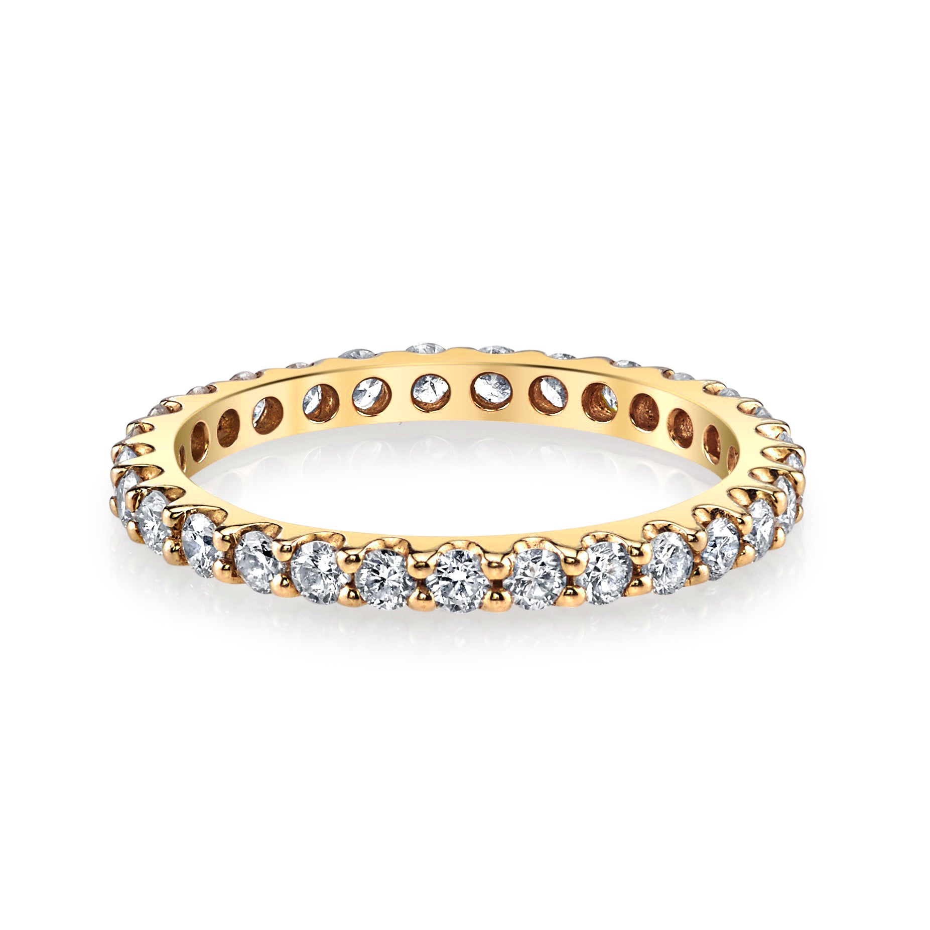 DIAMOND BACK TO BASICS ETERNITY BAND