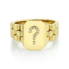 CUSTOM SIGNET WATCHLINK RING