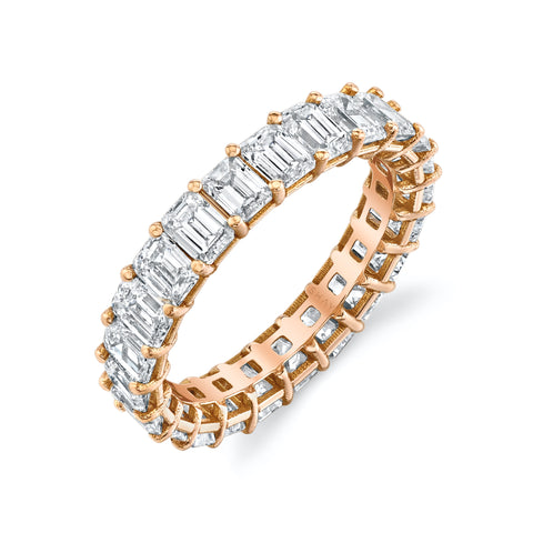 CITRINE INSIDE & OUT ETERNITY BAND