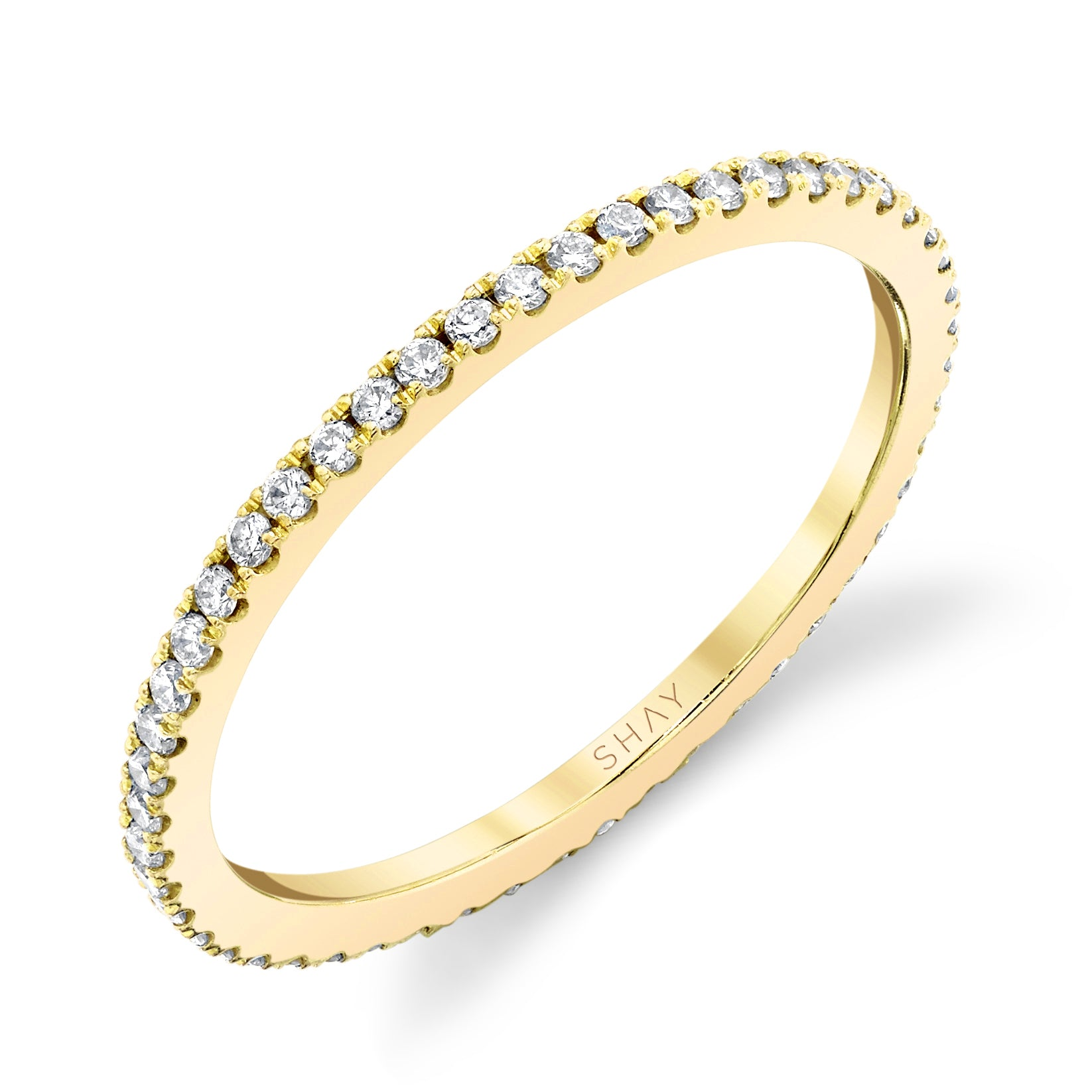 DIAMOND EVERYDAY PAVE ETERNITY BAND