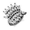 LARGE DIAMOND MARQUISE BUTTERFLY RING