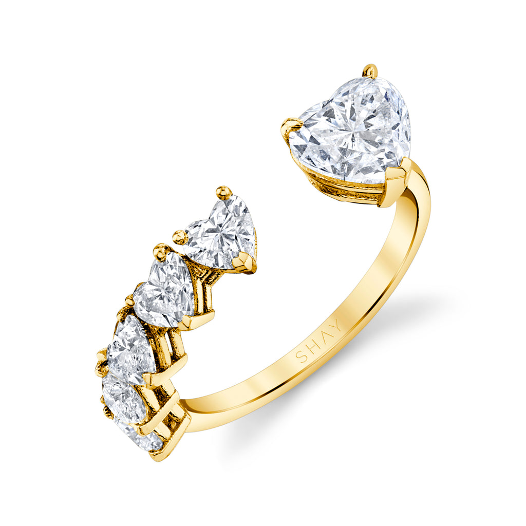 FLOATING DIAMOND HEART & DIAMOND RING