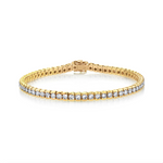 DIAMOND BEZEL TENNIS BRACELET