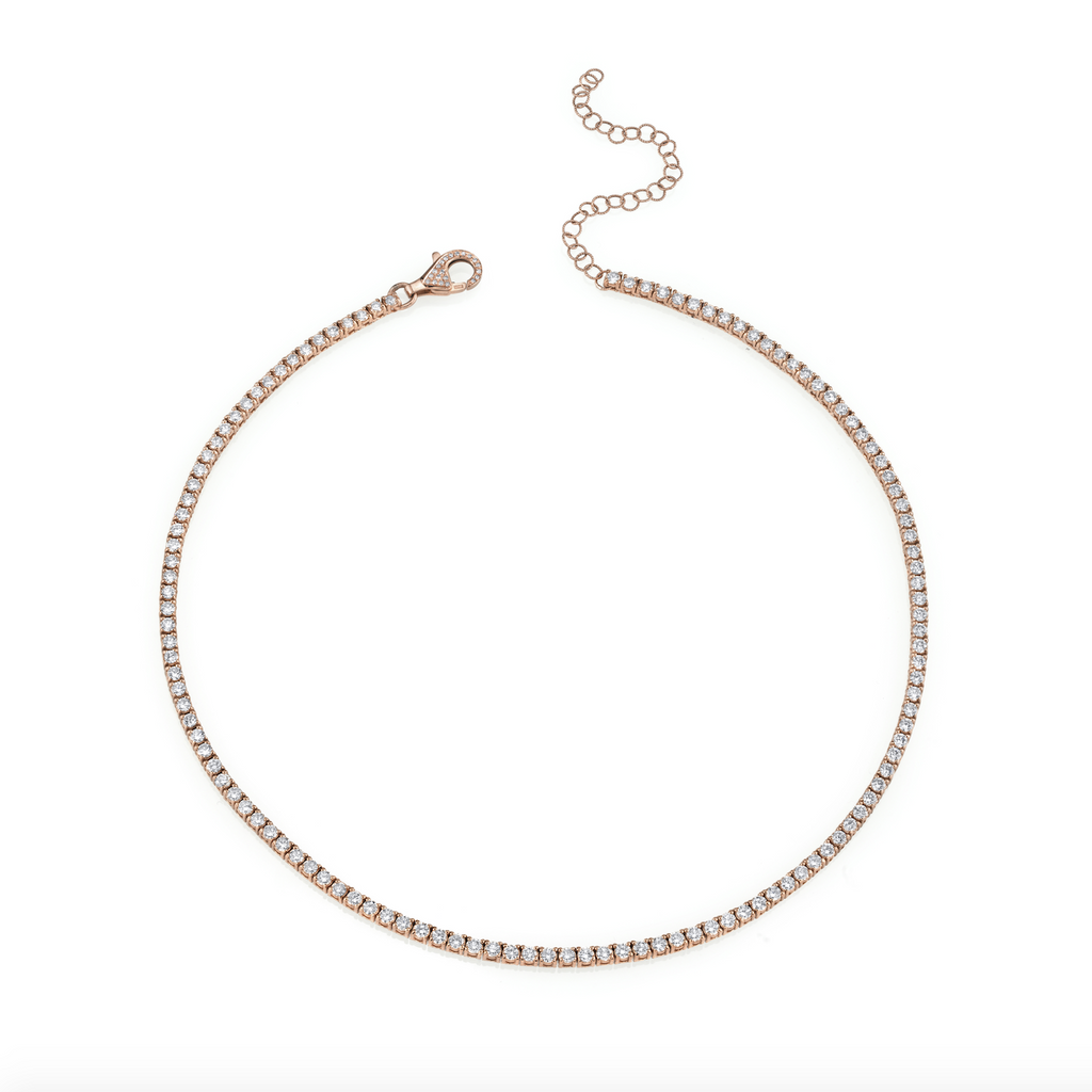 DIAMOND PAVE TENNIS CHOKER