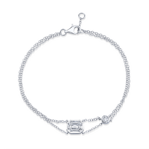 DIAMOND SOLITAIRE ILLUSION BRACELET