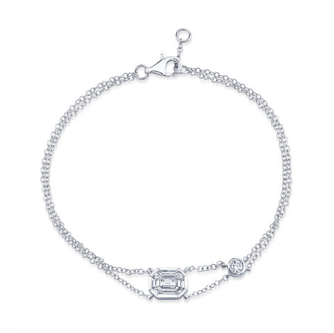 DIAMOND MESH STRETCH BRACELET