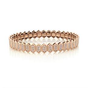 DIAMOND HEXAGON STRETCH BRACELET